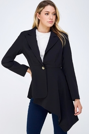 On Twelfth Fitted Asymmetrical Blazer - Front cropped