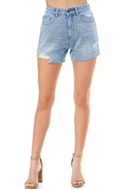 On Twelfth High Rise Boxy Mom Short - Product Mini Image