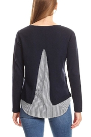 On Twelfth Layered Sweater Shirt - Front full body