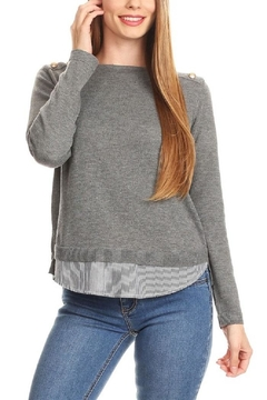 Shoptiques Product: Layered Sweater Shirt