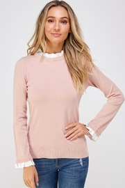 On Twelfth Mock Neck Sweater - Front cropped