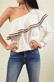 On Twelfth One Shoulder Blouse - Product Mini Image