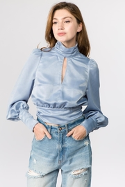 On Twelfth Open Back Blouse - Product Mini Image