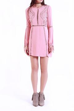 Shoptiques Product: Pink Solid Dress
