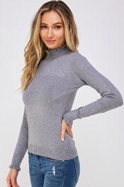 On Twelfth Ruffle Neck Sweater - Side cropped