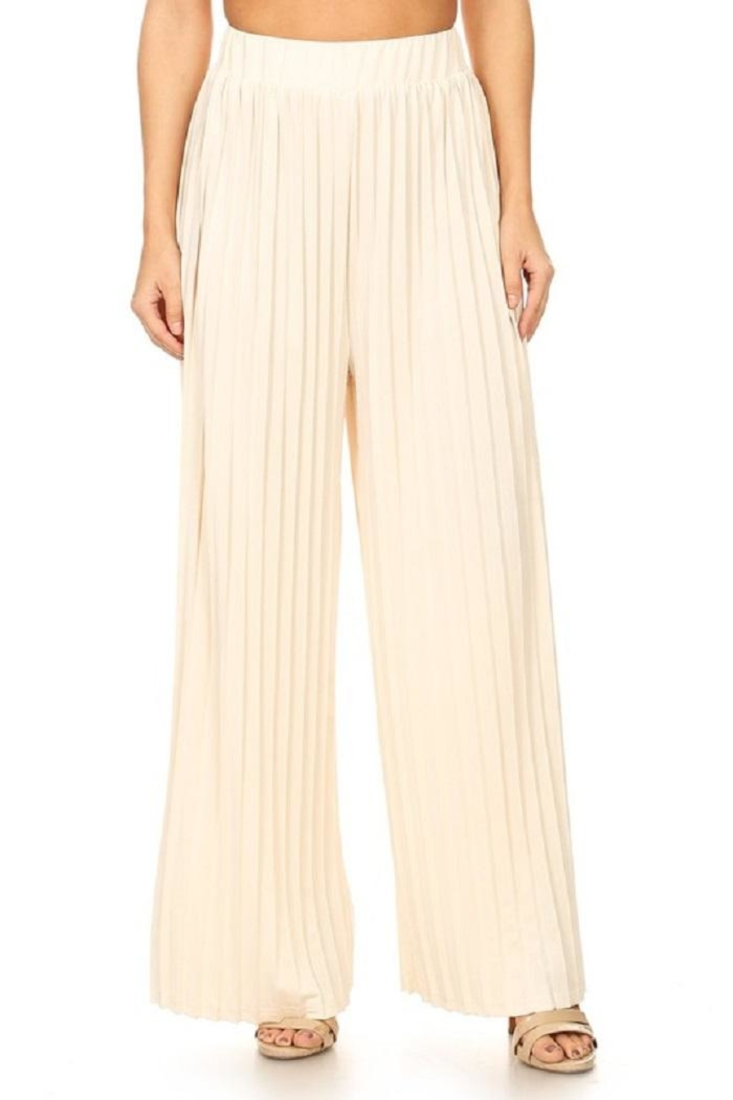 On Twelfth Wide Pleated Pant - Front Full Image