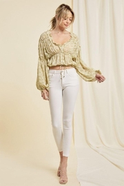 On You Flared Sleeves Long Sleeve Top - Product Mini Image