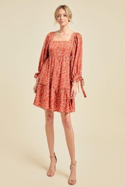 On You Floral Chain Babydoll Dress - Other