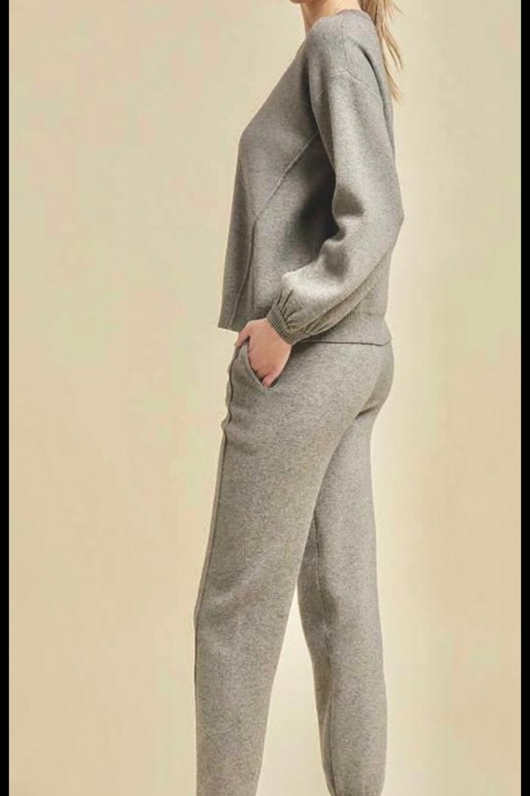 On You Jogger Pants Set - Front Full Image