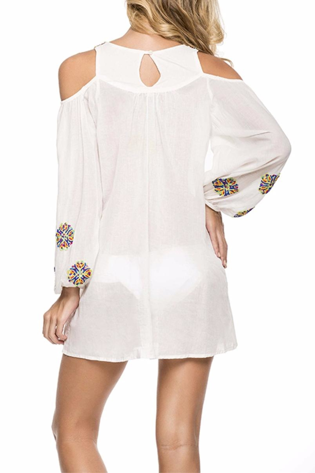Onda de Mar Embroidered Tunic - Front Full Image