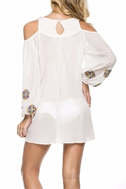 Onda de Mar Embroidered Tunic - Front full body