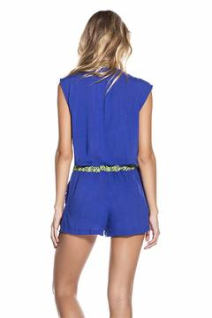 Shoptiques Product: Embroidered Playsuit