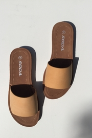 Soda One Band Sandal - Front cropped