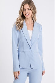 Idem Ditto  One Button Blazer - Product Mini Image