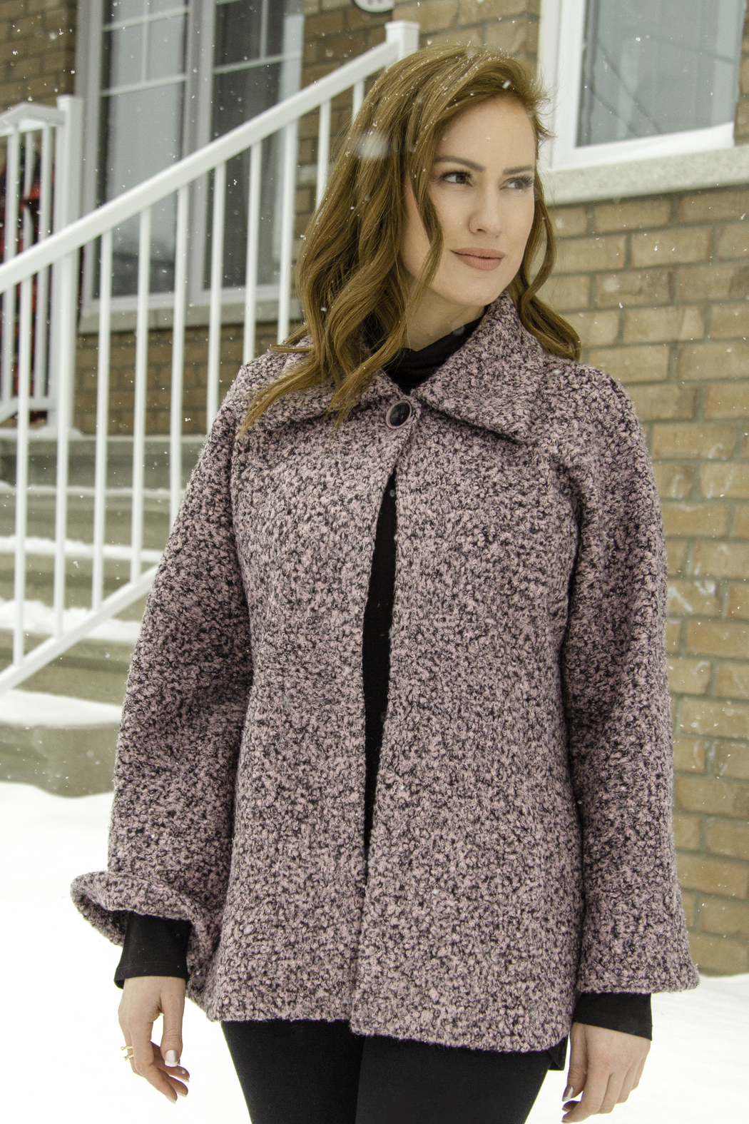 Pure by Urbanology One button coat - Main Image