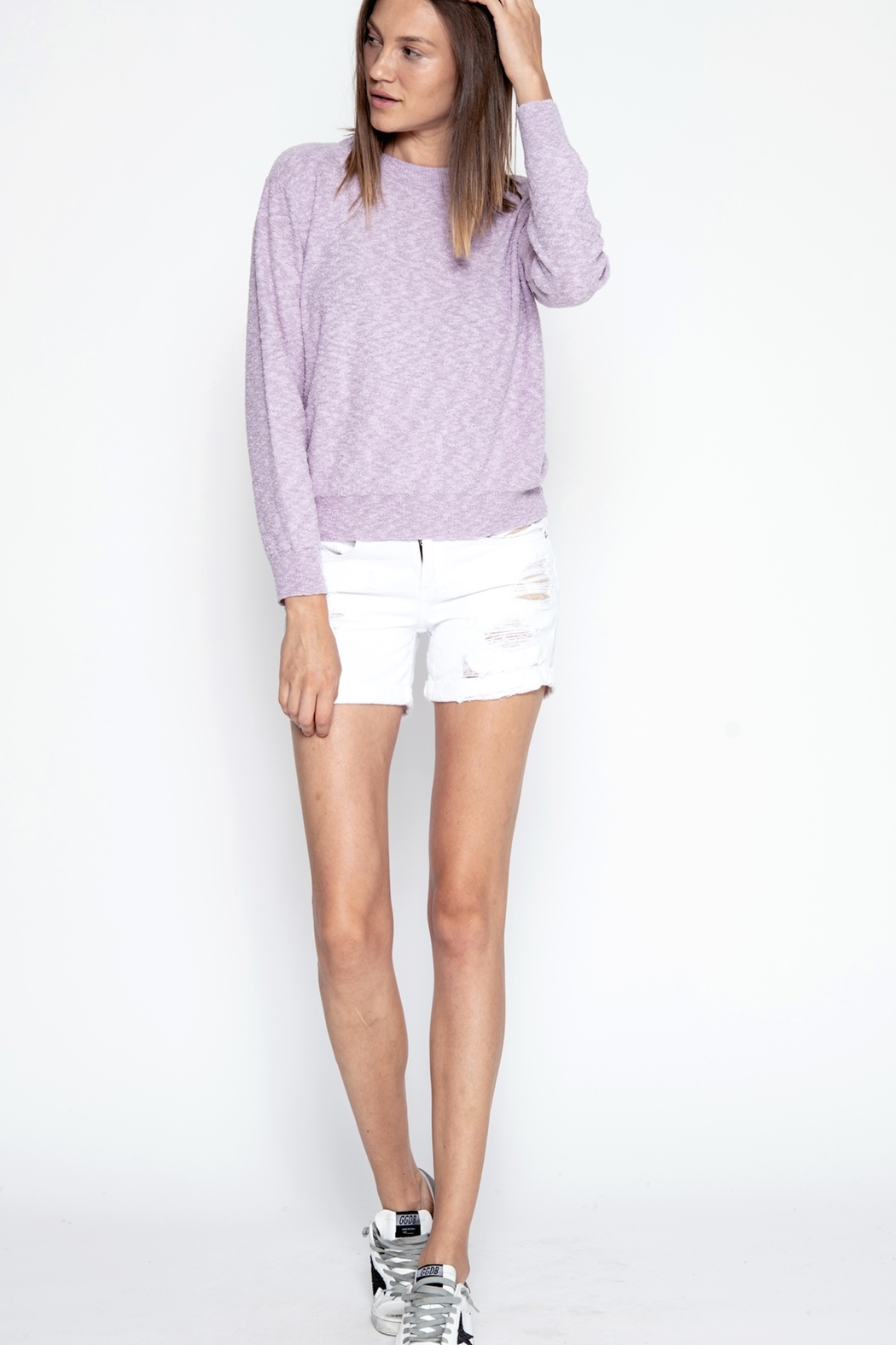 One Grey Day Iris Pullover Sweater - Main Image