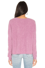 One Grey Day Paxton Pink Pullover - Side cropped