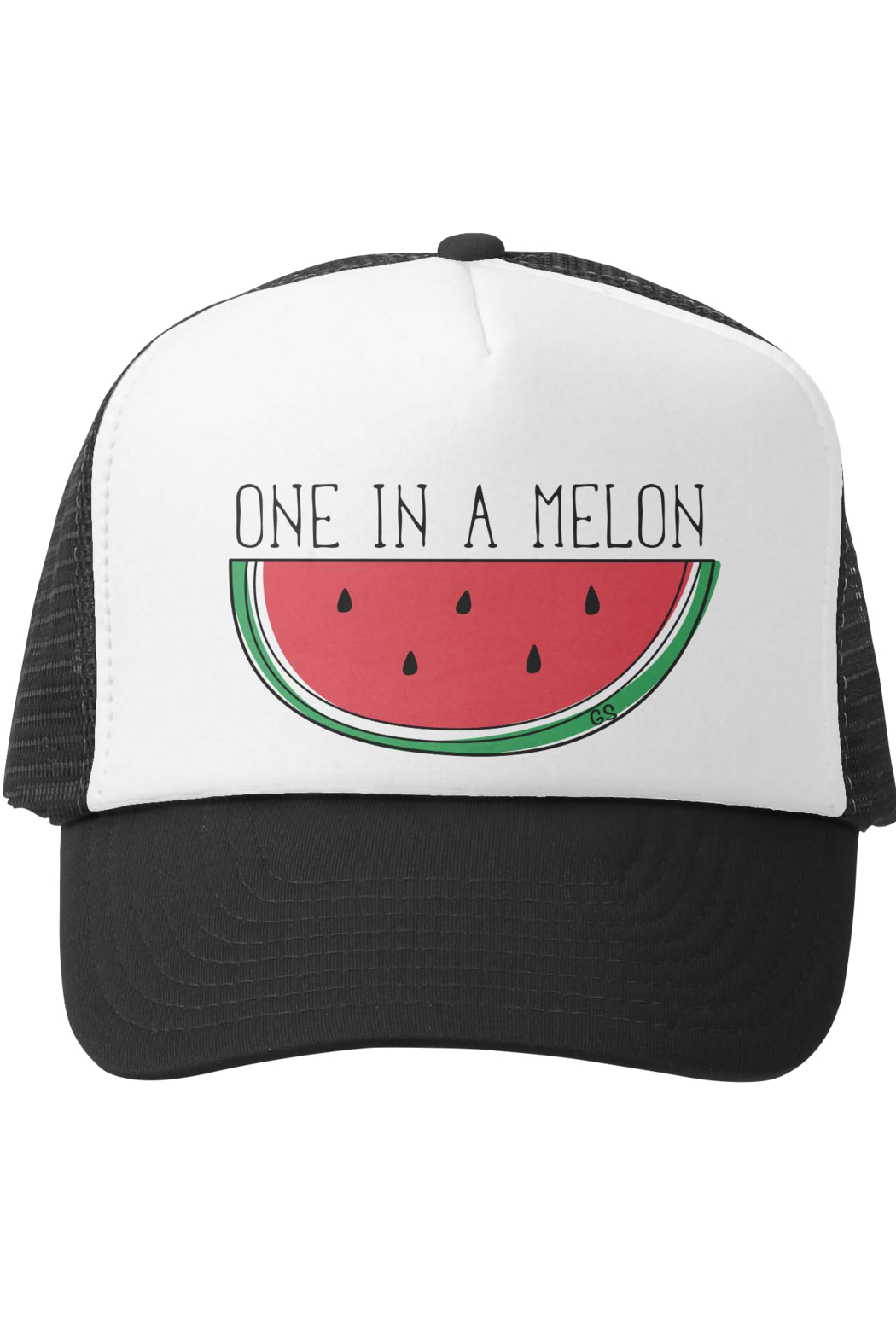 Grom Squad One In A Melon Trucker Hat - Main Image
