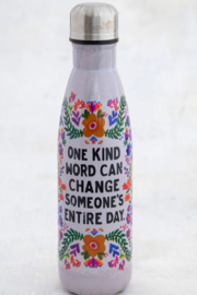 Natural Life One Kind Word Water Bottle - Product Mini Image