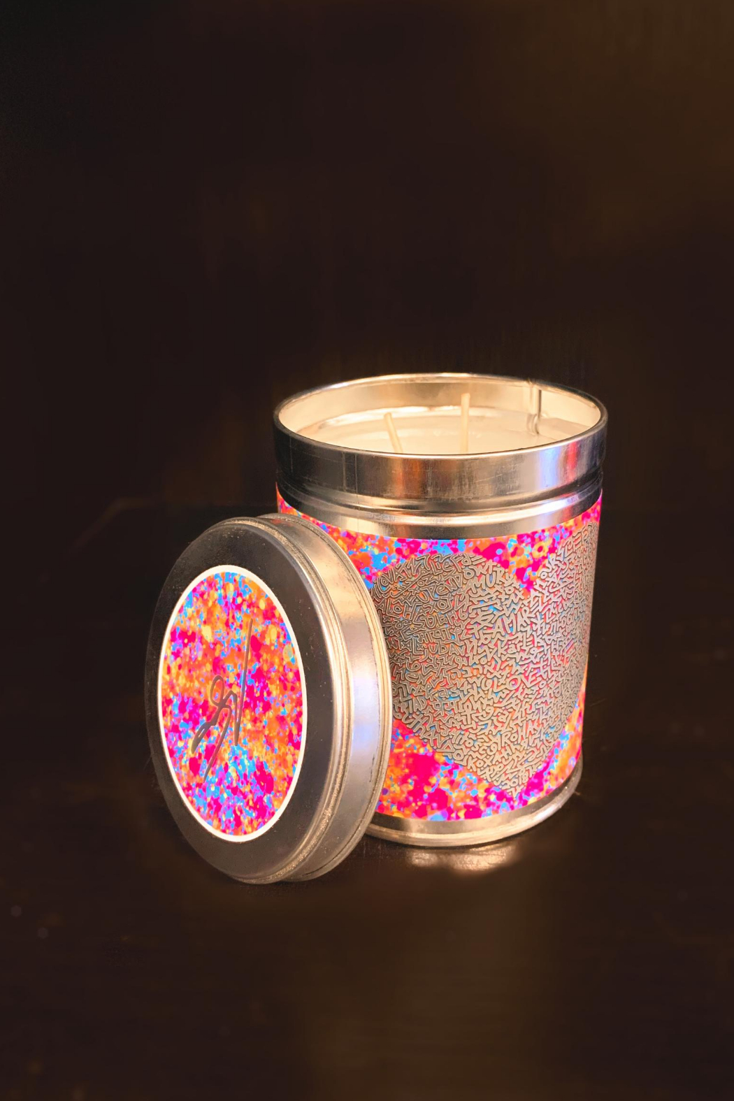 Thompson Ferrier One Love Artist Candle - Main Image