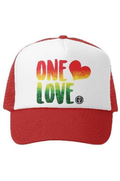 Grom Squad One Love trucker hat - Product List Image