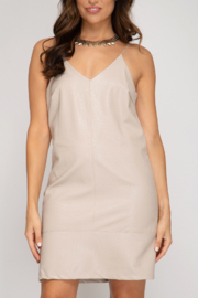 She and Sky One More Time Dress - Front cropped