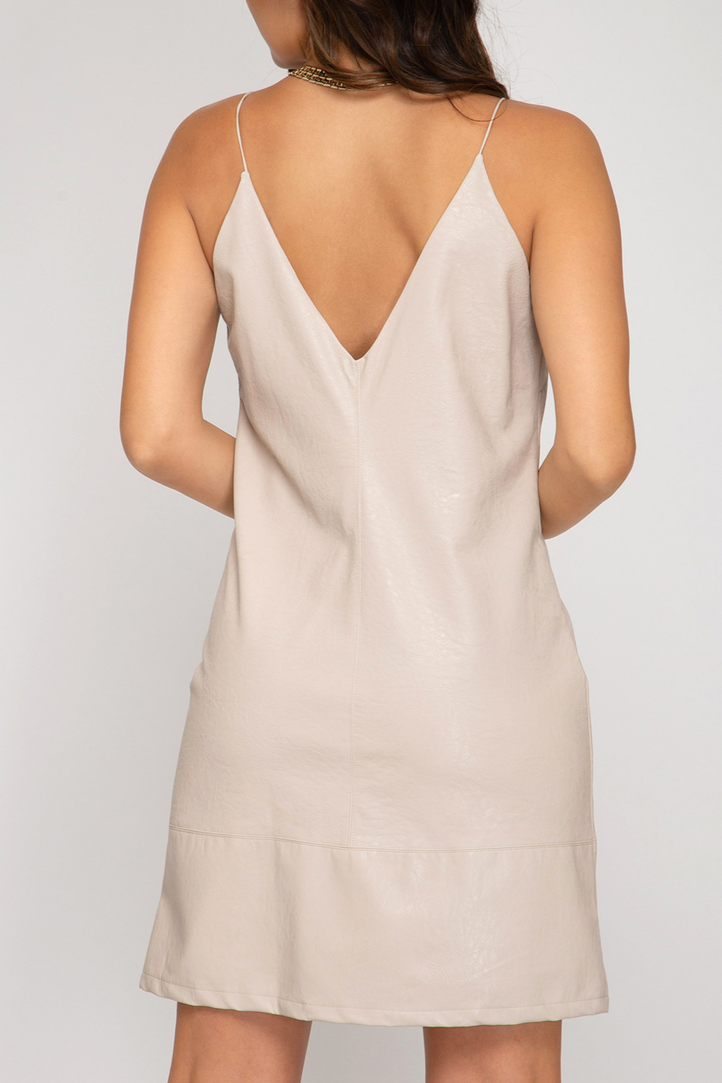 She and Sky One More Time Dress - Front Full Image