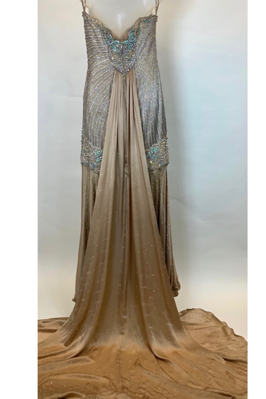 Mac Duggal ONE OF A KIND EVENING  GOWN - Front Full Image