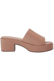 Seychelles One Of A Kind Heeled Slide - Front full body