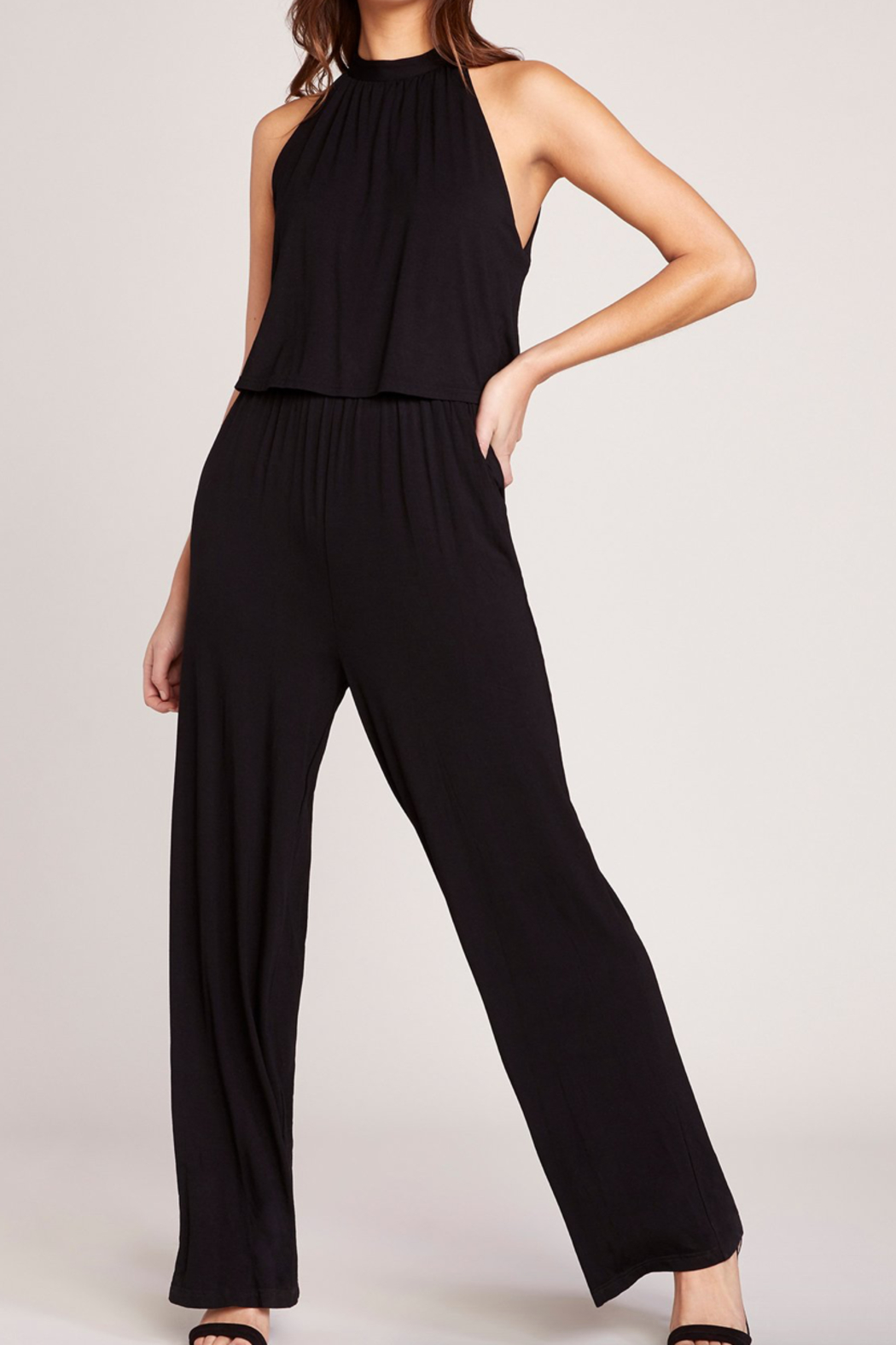 BB Dakota One on One Jumpsuit - Side Cropped Image