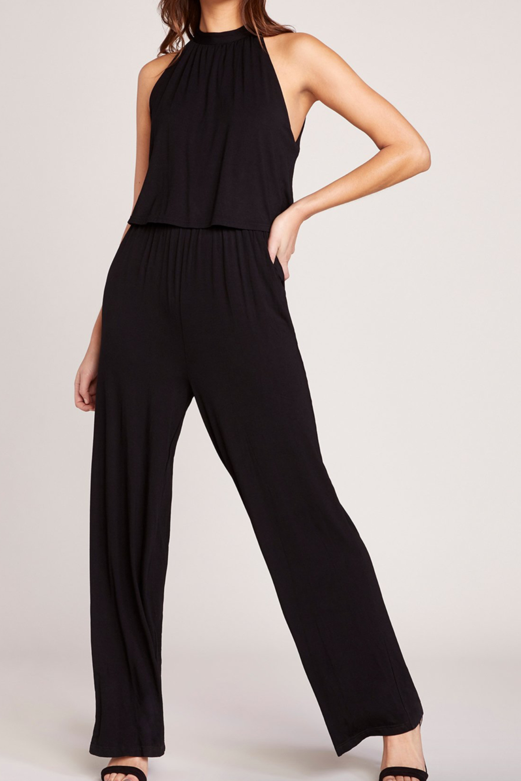BB Dakota One on One Jumpsuit - Front Cropped Image