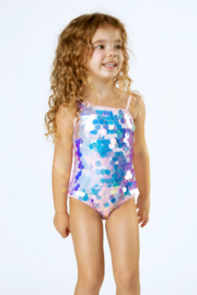 Shade Critters One Piece One Shoulder - Paillette Suit - Product Mini Image