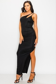 privy One Shoulder Asymmetrical Maxi - Product Mini Image