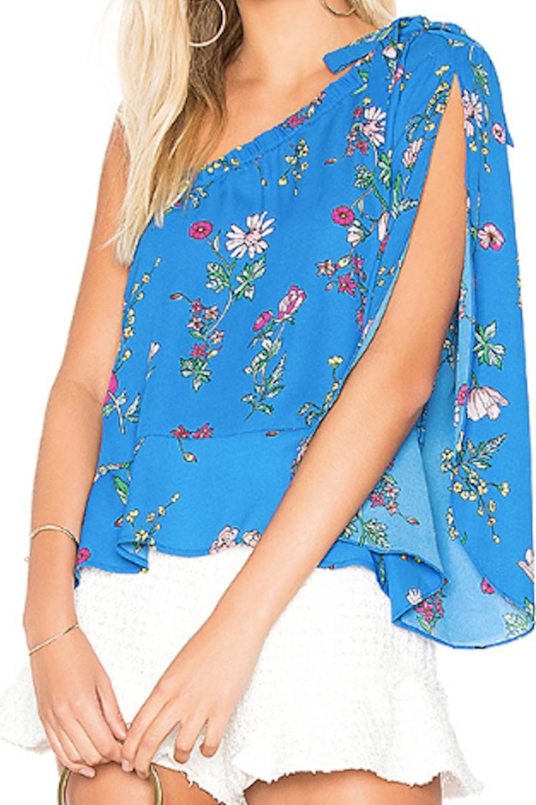 Jack by BB Dakota One Shoulder Blouse - Main Image