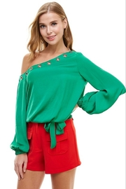 TCEC One Shoulder Blouse - Product Mini Image