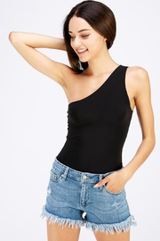 Uptown One Shoulder Bodysuit - Product Mini Image