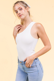 Le Lis One Shoulder Bodysuit - Product Mini Image