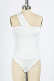 Final Touch One Shoulder Bodysuit - Product Mini Image