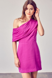Do + Be  One Shoulder Dress - Front cropped