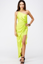 luxxel One Shoulder Dress - Front cropped