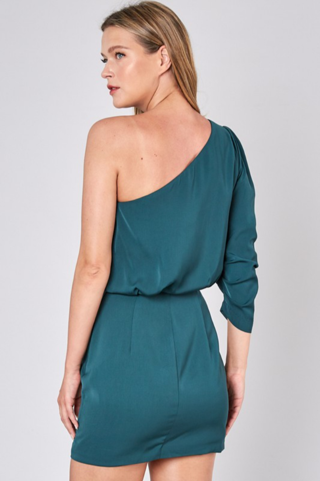 Do + Be  One Shoulder Dress - Side Cropped Image
