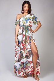 Latiste One-Shoulder Floral Dress - Product Mini Image