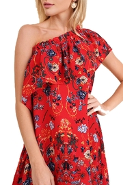 Umgee USA One-Shoulder Floral Dress - Product Mini Image