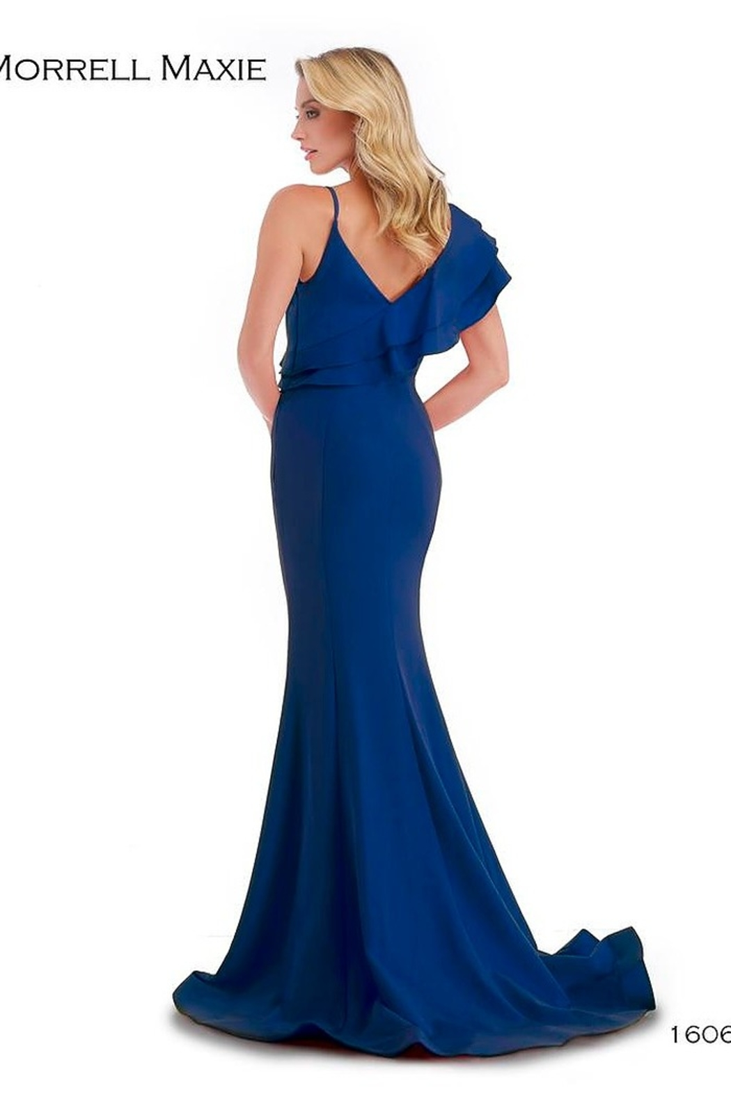 Morrell Maxie One Shoulder Gown - Front Full Image