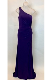 Mac Duggal ONE SHOULDER JERSEY GOWN - Product Mini Image