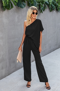 Lyn -Maree's One Shoulder Jumpsuit - Product List Image