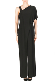 Joseph Ribkoff One Shoulder Layered Jumpsuit - Product Mini Image