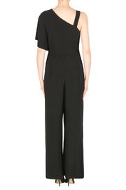 Joseph Ribkoff One Shoulder Layered Jumpsuit - Side cropped