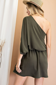 eesome One Shoulder Mini Dress - Product List Image