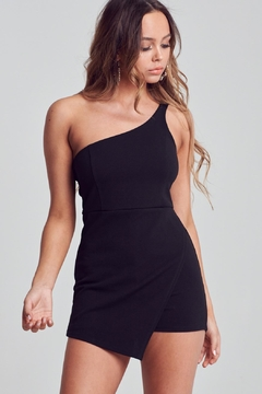 Unknown Factory One Shoulder Romper - Product List Image